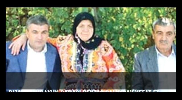 Rıza Çalımbay'ın babası Bektaş Çalımbay vefat etti