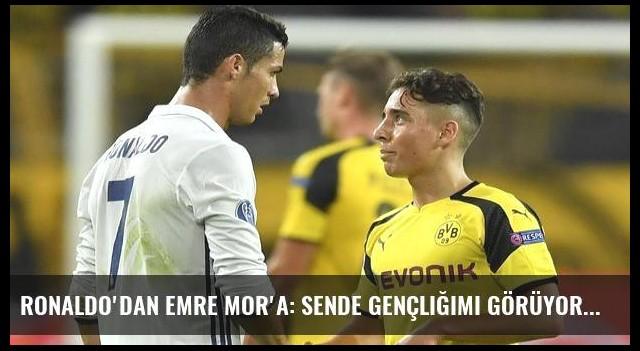 Ronaldo'dan Emre Mor'a: Sende gençliğimi görüyorum