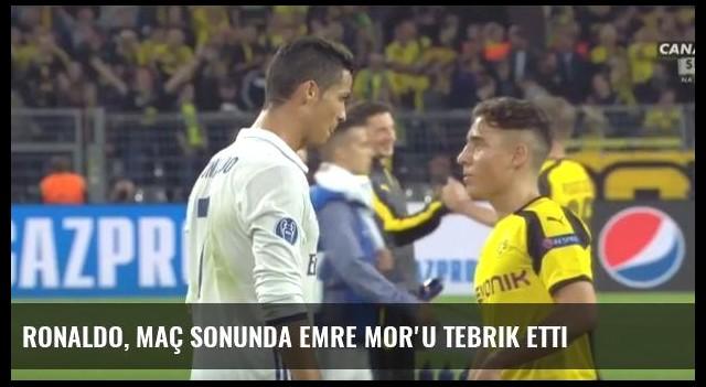 Ronaldo, Maç Sonunda Emre Mor'u Tebrik Etti