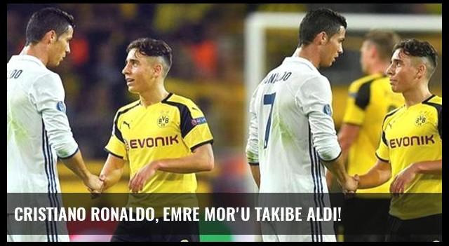 Cristiano Ronaldo, Emre Mor'u takibe aldı!