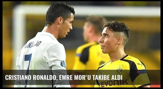 Cristiano Ronaldo, Emre Mor'u Takibe Aldı