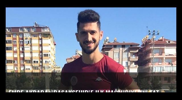 Emre Akbaba: 'Başakşehir'e ilk mağlubiyetini tattırmak istiyoruz'