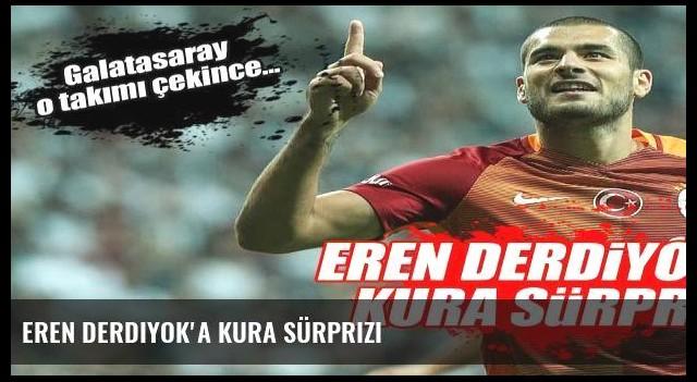 Eren Derdiyok'a kura sürprizi
