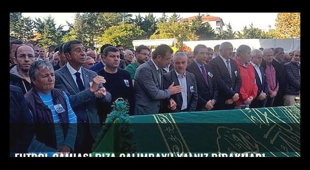 Futbol camiası Rıza Çalımbay'ı yalnız bırakmadı