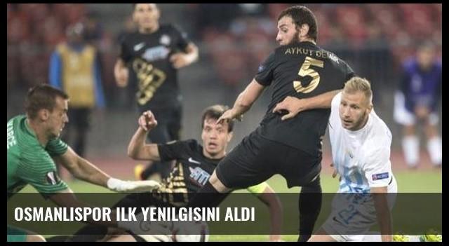 Osmanlıspor ilk yenilgisini aldı