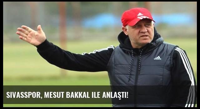 Sivasspor, Mesut Bakkal ile anlaştı!