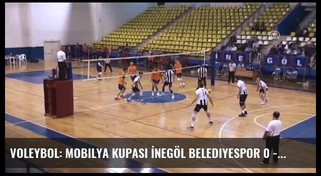 Voleybol: Mobilya Kupası İnegöl Belediyespor 0 - 3 Beşiktaş