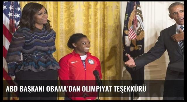 ABD Başkanı Obama'dan olimpiyat teşekkürü