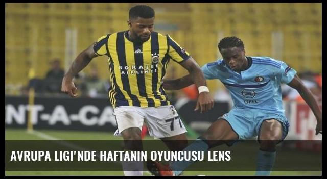 Avrupa Ligi'nde haftanın oyuncusu Lens