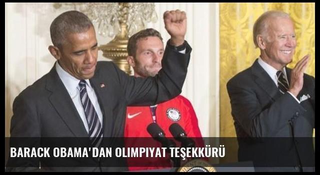 Barack Obama'dan olimpiyat teşekkürü