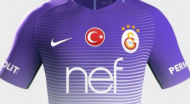 Galatasaray'ın 3. forması görücüye çıktı