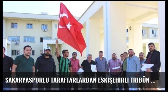 Sakaryasporlu Taraftarlardan Eskişehirli Tribün Lideri ile CHP'li Vekile Suç Duyurusu