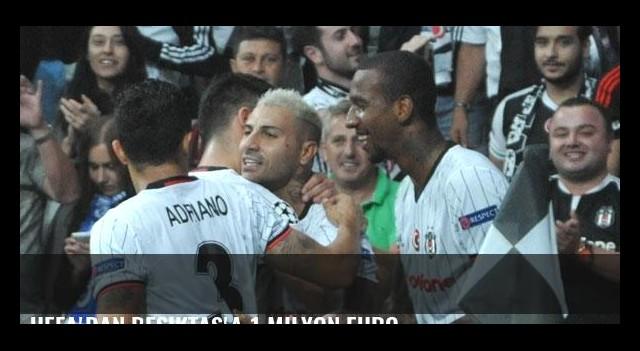 UEFA'dan Beşiktaş'a 1 milyon Euro