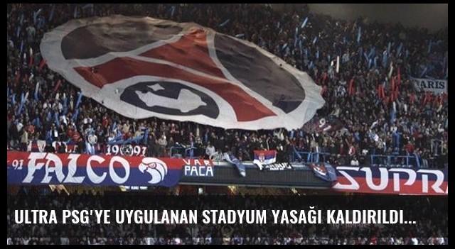 Ultra PSG'ye Uygulanan Stadyum Yasağı Kaldırıldı