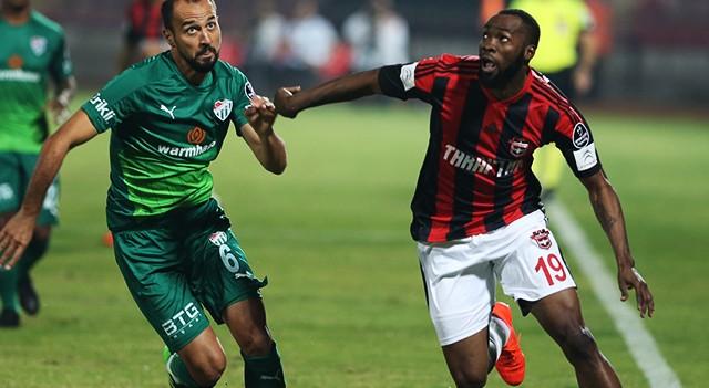 Gaziantepspor:3 Bursaspor:2