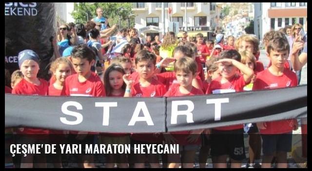 Çeşme'de Yarı Maraton Heyecanı