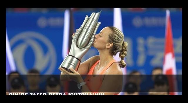 Çin'de zafer Petra Kvitova'nın