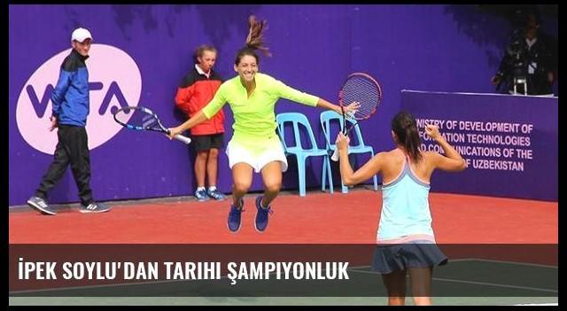 İpek Soylu'dan tarihi şampiyonluk