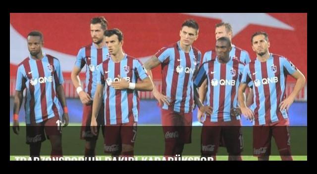 Trabzonspor'un rakibi Karabükspor