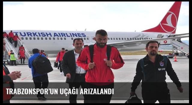 Trabzonspor'un uçağı arızalandı