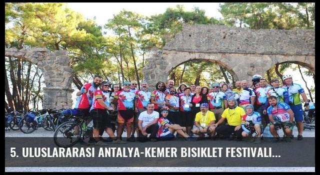 5. Uluslararası Antalya-Kemer Bisiklet Festivali sona erdi