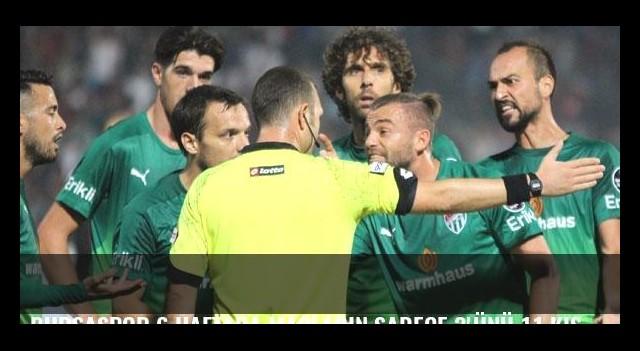 Bursaspor 6 haftada maçların sadece 3'ünü 11 kişi tamamlayabildi