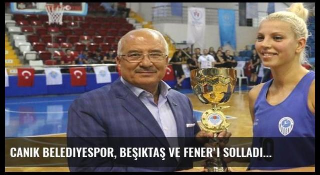 Canik Belediyespor, Beşiktaş ve Fener'i solladı