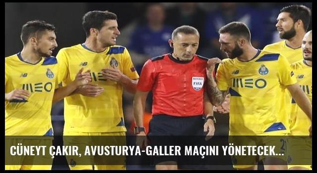 Cüneyt Çakır, Avusturya-Galler maçını yönetecek