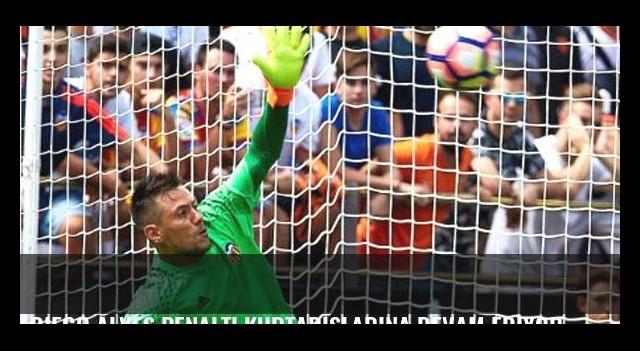 Diego Alves penaltı kurtarışlarına devam ediyor