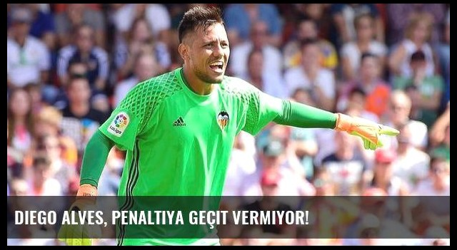 Diego Alves, penaltıya geçit vermiyor!