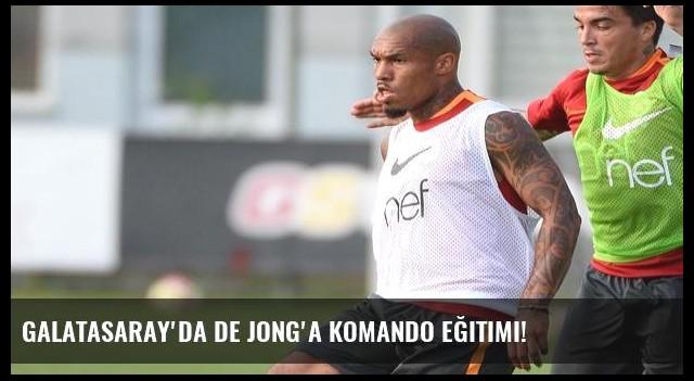 Galatasaray'da De Jong'a komando eğitimi!