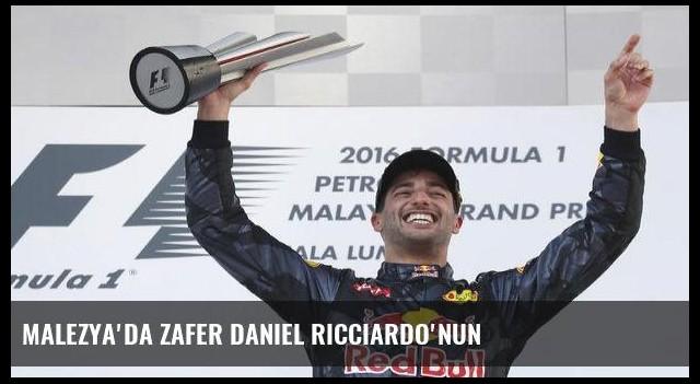 Malezya'da zafer Daniel Ricciardo'nun