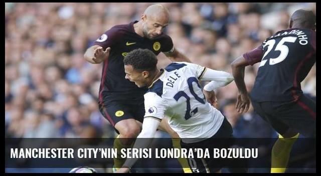 Manchester City'nin serisi Londra'da bozuldu
