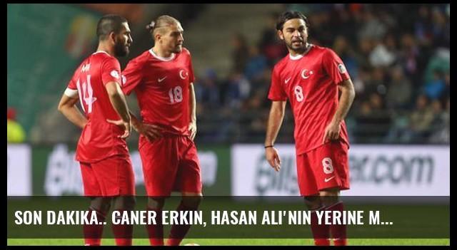 Son dakika.. Caner Erkin, Hasan Ali'nin Yerine Milli Takım Kadrosuna Dahil Edildi