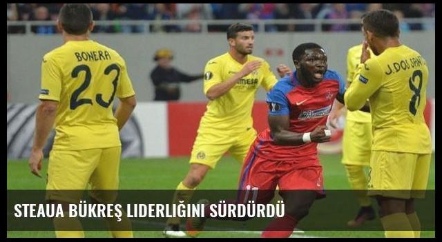 Steaua Bükreş liderliğini sürdürdü