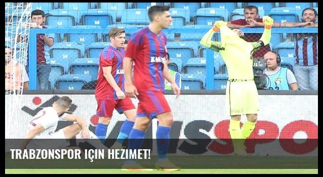 Trabzonspor için hezimet!