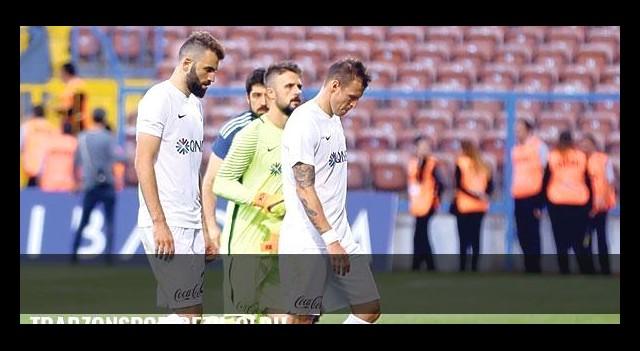 Trabzonspor rezil oldu