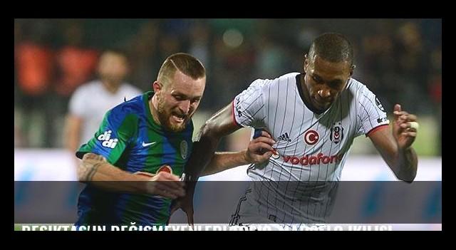 Beşiktaş'ın değişmeyenleri Tosic-Marcelo ikilisi