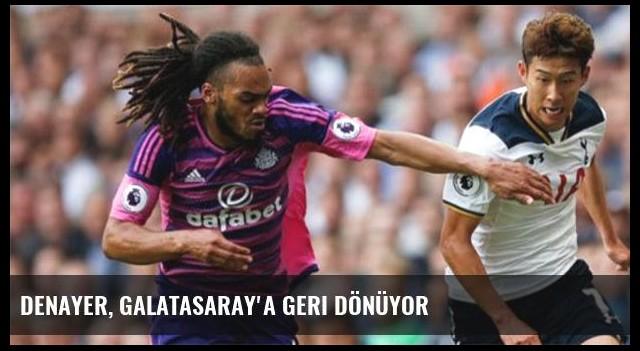 Denayer, Galatasaray'a geri dönüyor