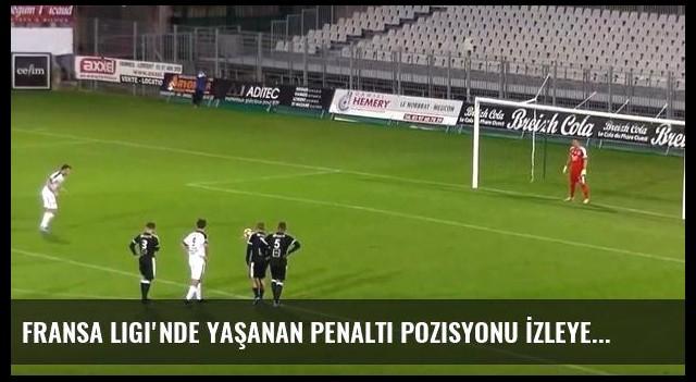 Fransa Ligi'nde Yaşanan Penaltı Pozisyonu İzleyenleri Şaşırttı