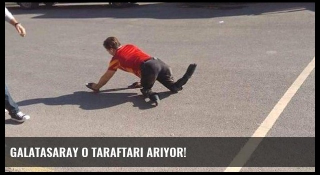 Galatasaray o taraftarı arıyor!