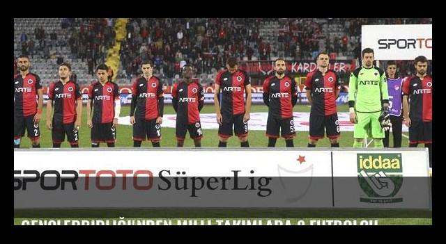 Gençlerbirliği'nden milli takımlara 8 futbolcu