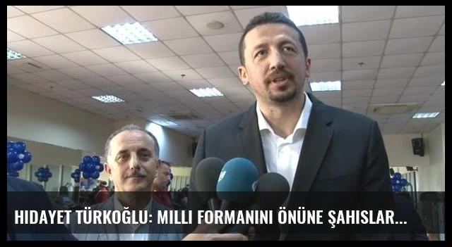 Hidayet Türkoğlu: Milli formanını önüne şahıslar geçemez