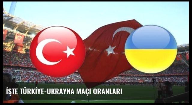 İŞTE TÜRKİYE-UKRAYNA MAÇI ORANLARI