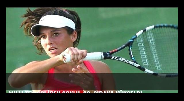 Milli tenisçi İpek Soylu, 82. sıraya yükseldi