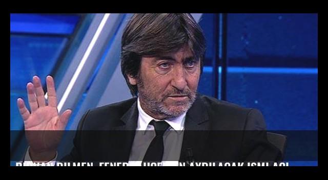 Rıdvan Dilmen, Fenerbahçe'den ayrılacak ismi açıkladı!
