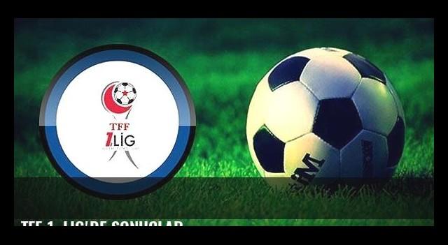 TFF 1. Lig'de sonuçlar