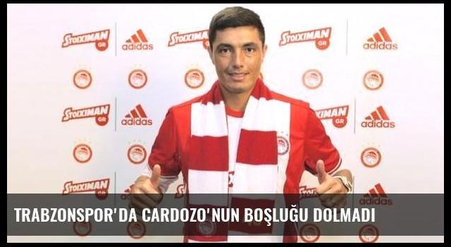 Trabzonspor'da Cardozo'nun boşluğu dolmadı