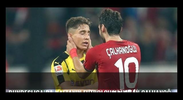 Bundesliga'da haftanın futbolcusu Hakan Çalhanoğlu