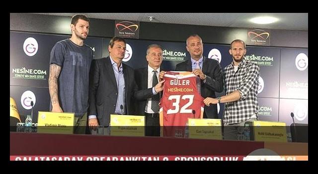 Galatasaray Odeabank'tan 2. sponsorluk anlaşması